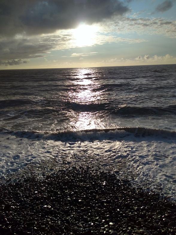 Westward Ho surf break
