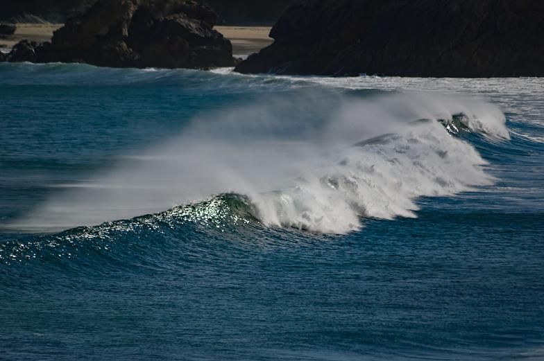 Playa de Espasante surf break
