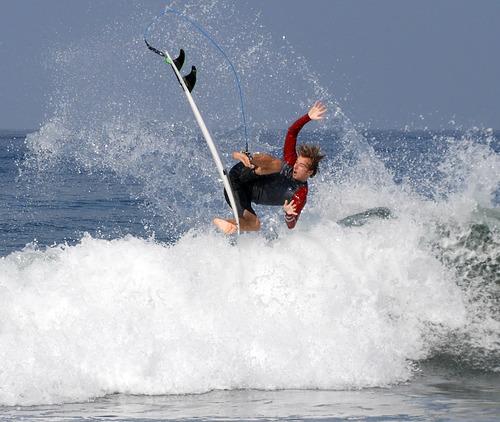 Oops!, El Porto Beach