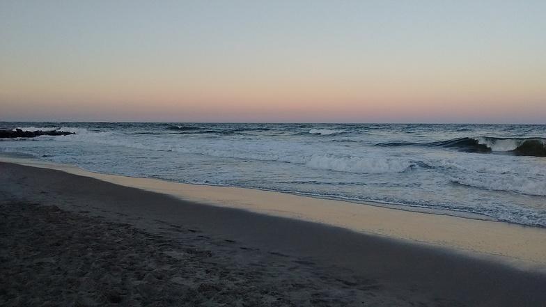 North Wildwood surf break