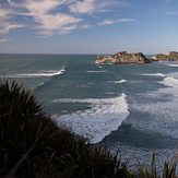 Wharaiki from the West, Wharariki Beach