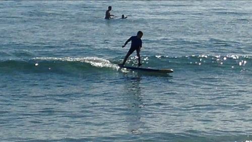 JK, Louro (Playa Area Maior)