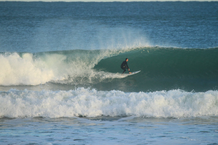 Marokopa surf break