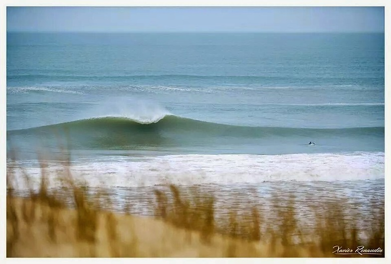La Cote Sauvage surf break
