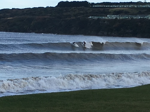 Autumn Swell, St Andrews