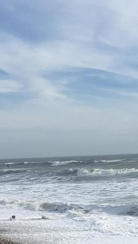 Gnarly onshore day at East Witterings
