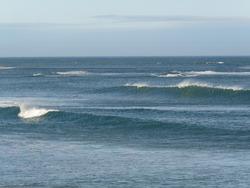 Pouawa - north wind, small south swell, Pouawa Beach photo