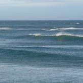 Pouawa - north wind, small south swell, Pouawa Beach