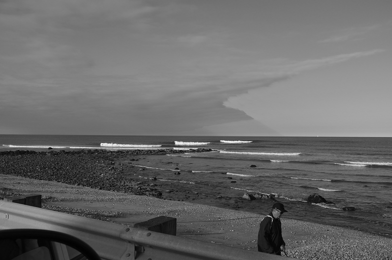 3 Wave Set at Brant Rock Jetty, Marshfield Jetty