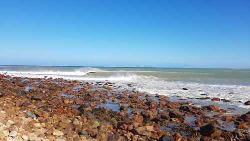 Bikini Beach Low tide, Bikini Beach (Gordon's Bay)