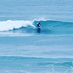 Ruakaka beach perfect all round swell.