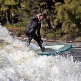 Lookin' down the wave part deux, Jordan River