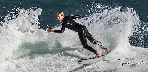 Young Surfer, Kalk Bay Reef