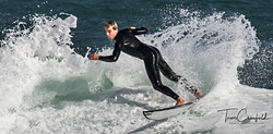 Young Surfer, Kalk Bay Reef photo