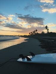 Beautiful sunset, Playa Ballena photo