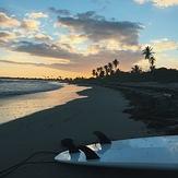 Beautiful sunset, Playa Ballena
