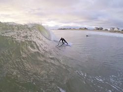Nuking November Surf, Greenhill photo