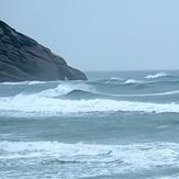 Stormy surf, Wharariki Beach