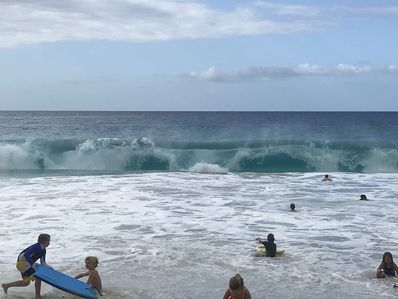 Solid waves today, Kua Bay