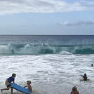 Solid waves today, Kua Bay