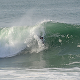 Dave Ford at Nazare, Praia do Norte