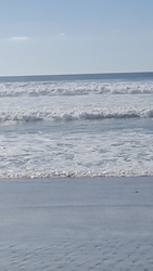 Surf at stone steps beach, encinitas, ca photo