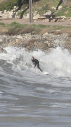 Morning Surfing, Royal Palms State Beach photo