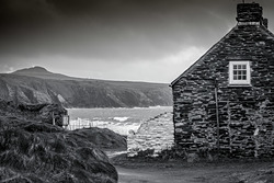 Storm approaching, Abereiddy photo