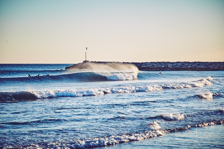 A rare perfect day, Port Ginesta