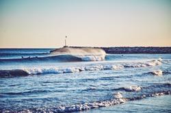 A rare perfect day, Port Ginesta photo
