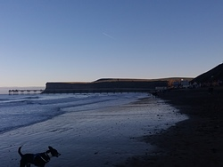 Saltburn beach, Huntcliff photo
