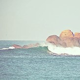 Right hander at morning, Mirissa