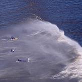 Surfers at Rhossili Bay