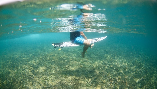 Underwater, Colpipe