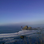 Camel Rock in January