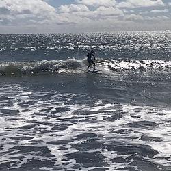 Small day at Doran on a foamie, Doran Beach photo