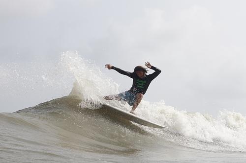 Simon Salazar en el Surf Festival 2018, Miramar