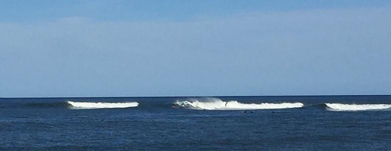 El Martillo surf break