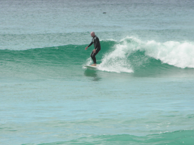 North Tabourie surf break