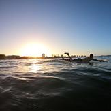 Sunset sesh, The Bluff