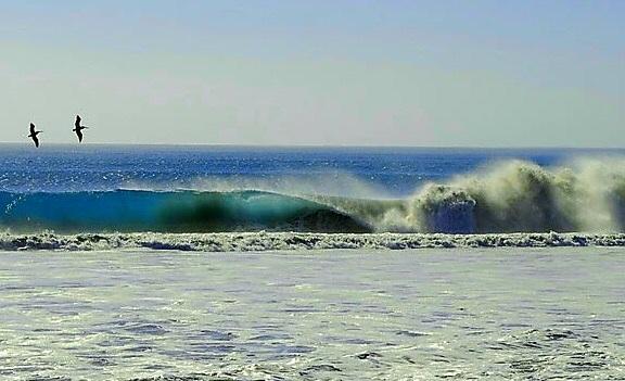 Accidental perfection, Punta Santa Rosalillita (The Wall)