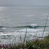 NW side of Mawgan Porth Beach