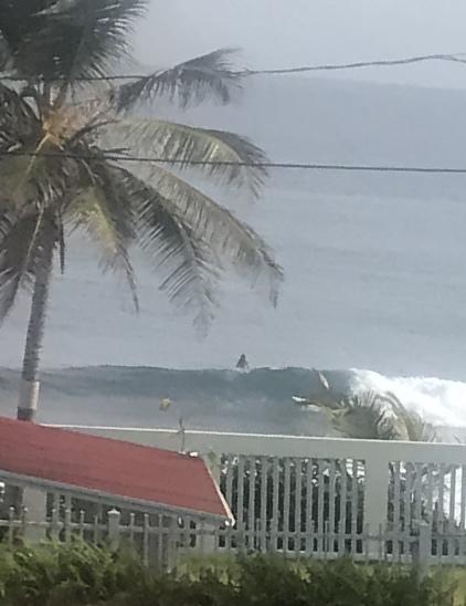 El Penon Amador surf break