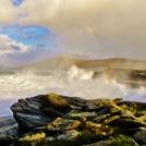 big swell, St Finan's Bay