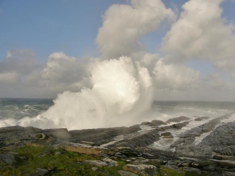 wave, Ballinskelligs Bay