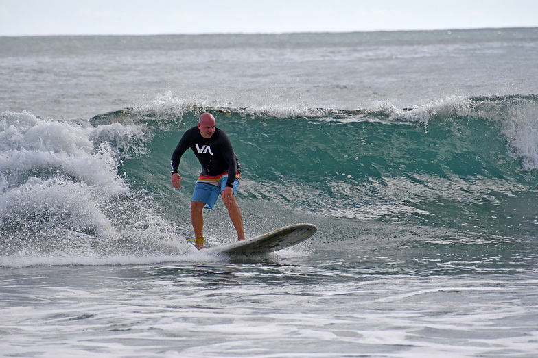 Dominacalito and The Point surf break