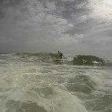 derechas frias, Playa Parguito