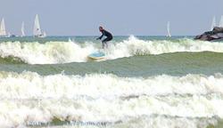 Surfing Sheboygan photo