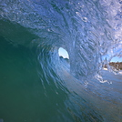 Morning barrel, Noosa - Sunshine Beach