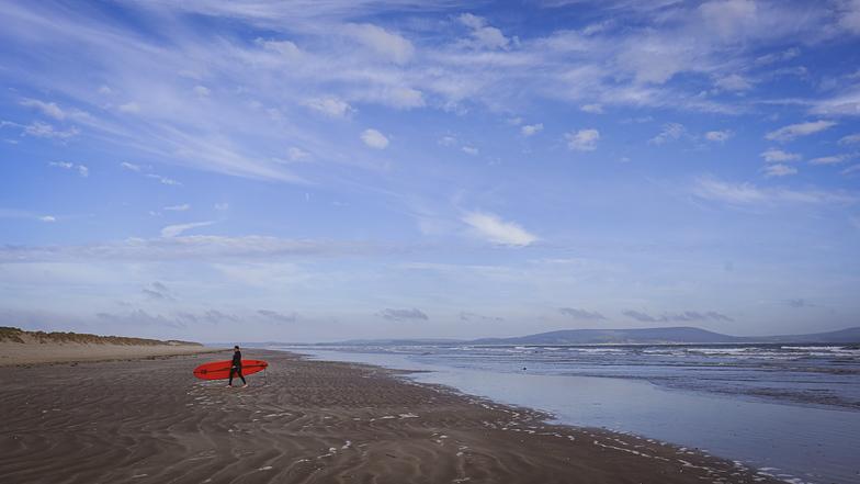 Pembrey surf break